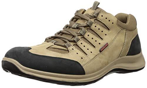Woodland Men's 3001118 Khaki Leather Sneaker-9 UK (43 EU) (10 US) (OGC 3001118KHAKI)
