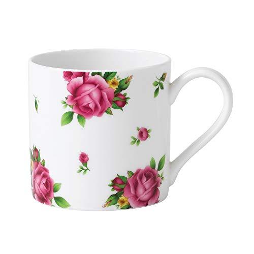 Royal Albert New Country Roses Kaffeebecher, Weiß