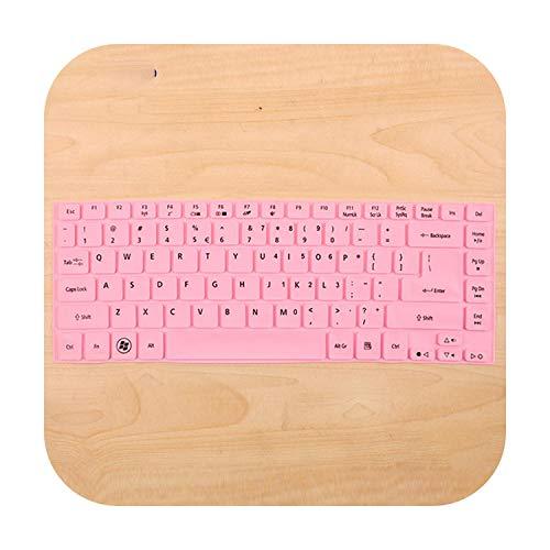Keyboard For Acer R7 571G E1 472G E1 422G E1 432G E1 410G V5 452G V5 431 E5 471G E5 421G V3 772 G Nv47 Nv49 Silicone Keyboard Skin Cover-Allpink-