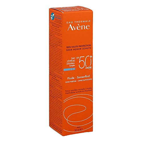 AVENE SunSitive Sonnenfluid SPF 50+ o.Duftst. 50 ml