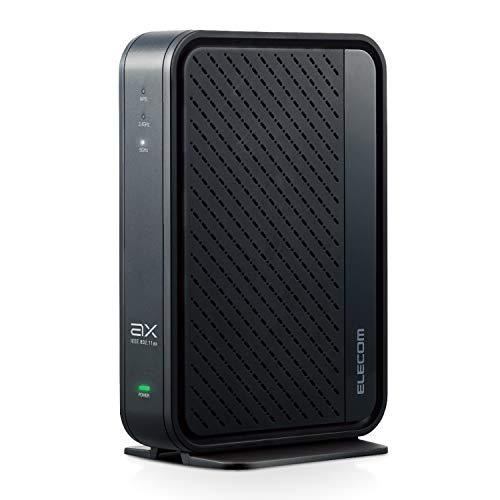 エレコム WiFi ルーター Wi-Fi6 11ax 2402+574Mbps フレッツ光・光コラボ IPv6(IPoE)対応 WRC-X3000GSN