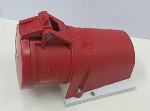 Mennekes CEE-Steckdose, Kunststoff, Rot, 1, 300