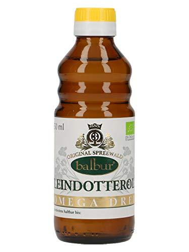 balbur-Leindotteröl (Bio) aus dem Spreewald, erste Kaltpressung, naturbelassen, ungefiltert (250...