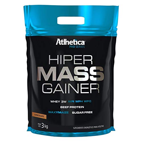 Hiper Mass Gainer W/Creatine (3Kg) - Sabor Chocolate, Atlhetica Nutrition