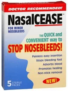 PACK OF 3 Special price for a limited time EACH NASALCEASE FOR PT#18436900000 5 1EA BX Award-winning store NOSEBLEEDS