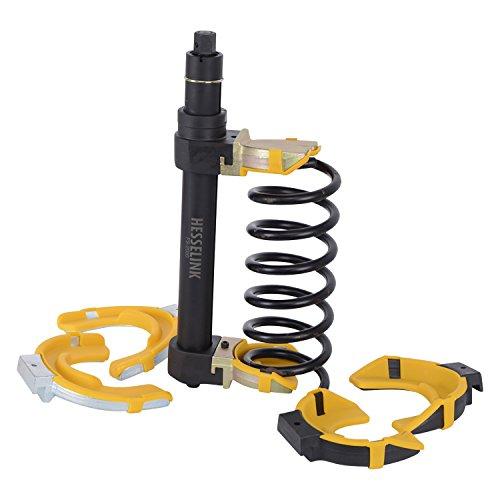 Hesselink® FS-2000 Mc-Pherson Federspanner - max. 16760 N - für Schlagschrauber zugelassen I Universal Werkzeug mit variablen Federarmen I Einsetzbar bei Allen gängigen Automarken