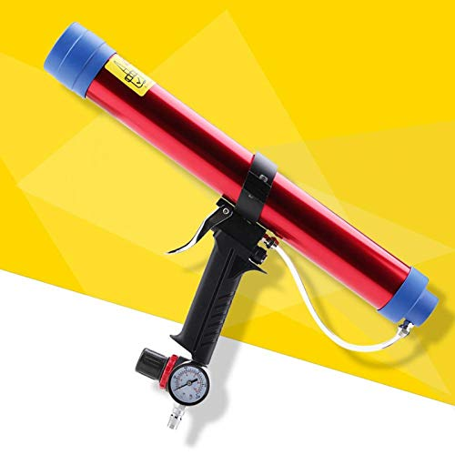 VINGVO Sellador de Pegamento de Vidrio neumático, sellador de calafateo Pegamento de Vidrio para calafateo para energía Solar para pecera