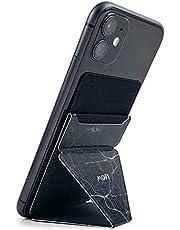 MOFT X スマホスタンド スマホホルダー スキミング防止カードケース iPhone/Android全機種対応 (黒大理石)