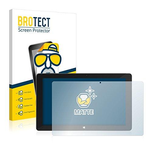 BROTECT 2X Entspiegelungs-Schutzfolie kompatibel mit TrekStor SurfTab Duo W3 Bildschirmschutz-Folie Matt, Anti-Reflex, Anti-Fingerprint