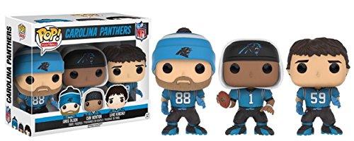 Funko NFL Carolina Panthers Funko POP! Sports Greg Olsen, Cam Newton & Luke Kuechly Exclusive Vinyl Figure 3-Pack
