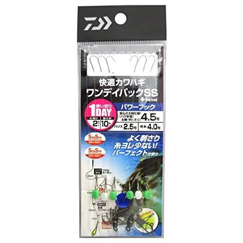 ダイワ(DAIWA) 快適カワハギ ワンデイパックSS+S パワーフック 4.5号