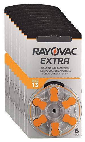 Rayovac Kit de Nettoyage Pour Appareils Auditifs Orange 13 Pack de 10 (60 cell)