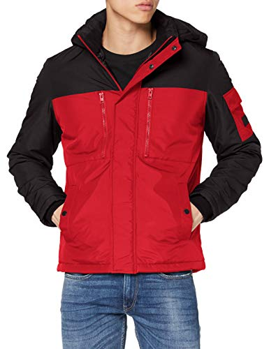 Jack & Jones JJFERGUS Jacket Chaqueta, Tango Red, XL para Hombre
