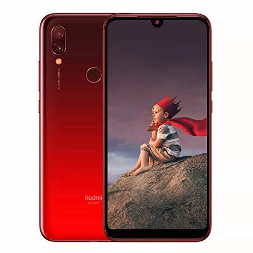 ★Xiaomi Redmi 7 Global Version★6.26インチ IPS 720x1520 HD Gorila Glass 5 ●Snapdragon 632 MIUI 10 (Android 9)搭載 日本仕様 ●AI対応搭載カメラ 後12.2MP +2.0MP + 前8.0MP●4G LTE+4G/3G 同時待受けDSDV対応 ●RAM 3GB + ROM 32GB●4000mAh Battery搭載●P2i 撥水ナノコーティング 生活防水 (RAM 3GB+ROM 32GB, Lunar Red)