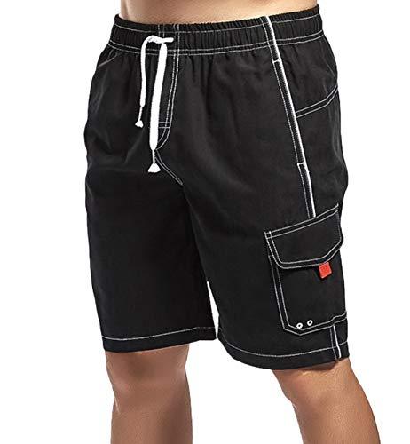 Lachi Bañador Hombre Pantalon Corto de Playa Deporte Natacion Training Gym Deportivo...