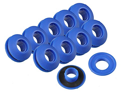 50 Stück Ösen Kunststoff 11 mm