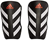 adidas Everlite Protège-tibias de football Mixte Adulte, Black/White/Solar Red, FR : L (Taille Fabricant : L)