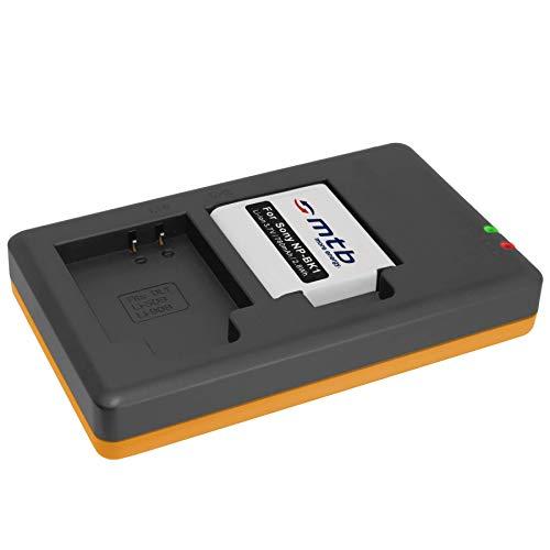 Batería + Cargador Doble (USB) para NP-BK1 / Sony DSC-S750, S780, S950,...