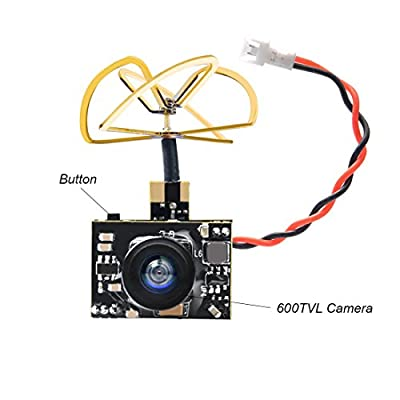 AKK A3 FPV AIO Micro Camera with 5.8GHz 0/25mW/50mW/200mW Switchable VTX 1/3 Cmos FPV Camera from AKK
