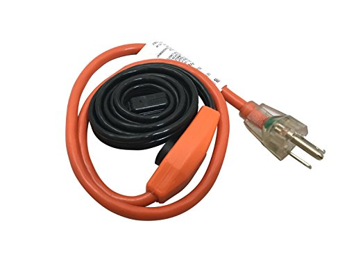 Frost King HC3A Heating Cables, 3 Feet, Black