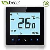 BECA 1000 Series 3/16A Pantalla táctil LCD Agua/Calefacción eléctrica/Caldera Termostato de control de programación...