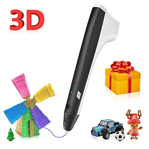 3D Pen Compatible with PLA & ABS 1.75mm, 3D Printer Pen with USB Port, 3D Drawing Doodler Pen for...