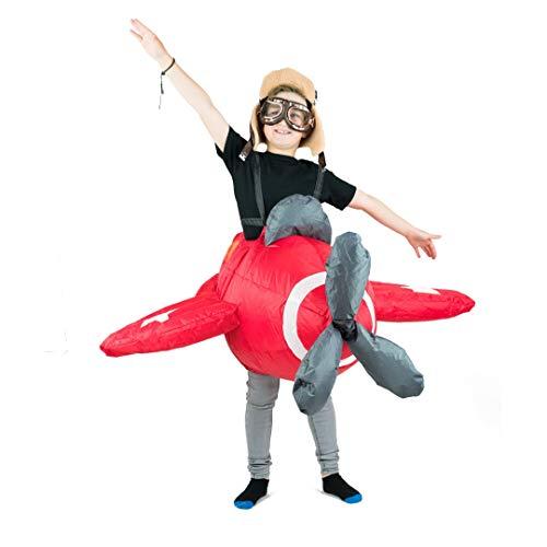 Bodysocks® Disfraz Hinchable de Aeroplano Niño