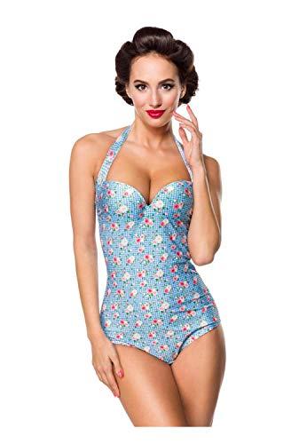 Belsira Vintage Damen Badeanzug S