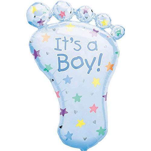 amscan 10022947 7688 1 Folienballon It's a Boy, Blau