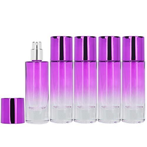 Botella de aerosol de perfume portátil conveniente del envase del perfume para el bolsillo para el perfume(purple)