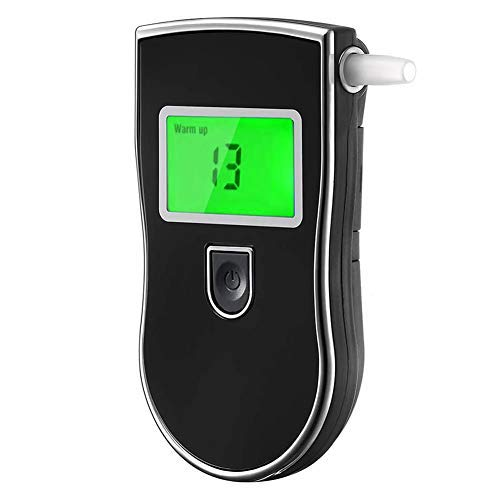 Breathalyzer, Portable Alcohol Tester with Digital Breath Alcohol Tester for Personal & Professional Use