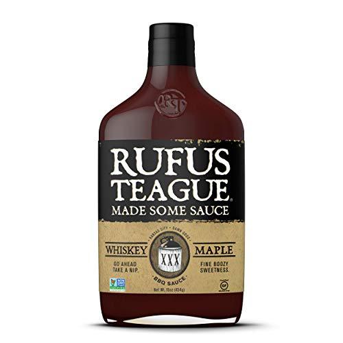 Rufus Teague - Whiskey Maple BBQ Sauce (2 X 16 Oz.) by Rufus Teague