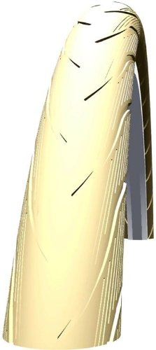 Schwalbe Spicer rapide Rolling Slick Reflex Pneu – Différentes tailles et couleurs. (Crème, 700 C x 30 mm)
