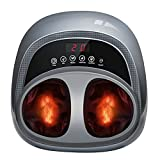 Foot Massager Machine with Heat, Shiatsu Foot Massage with deep Kneading, Foot Massager Plantar Fasciitis for Neuropathy and Foot Pain Relief, Best Gifts for Women Men Mom Dad