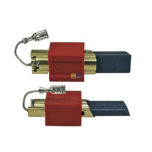 DL-pro Kohlebürsten passend für Miele 4297410/4297411 / 4297412/4297413 / 4297414 mit Halter 4,8mmAMP Waschmaschine Motorkohlen Kohlen
