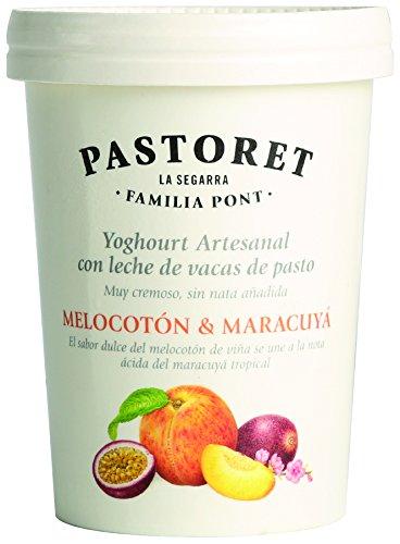 Pastoret Yogur Artesanal de Melocotón y Maracuyá, 500 g