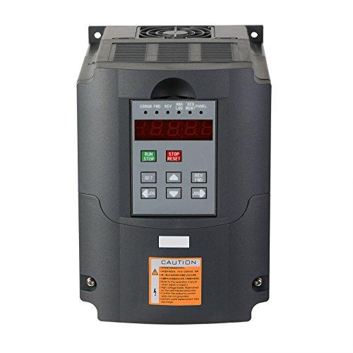 BuoQua 2.2KW 220V 3HP Trasformatore VFD Velocità Controllato Variatore Di Frequenza Inverter 3HP Frequenza Diver Inverter Professionale