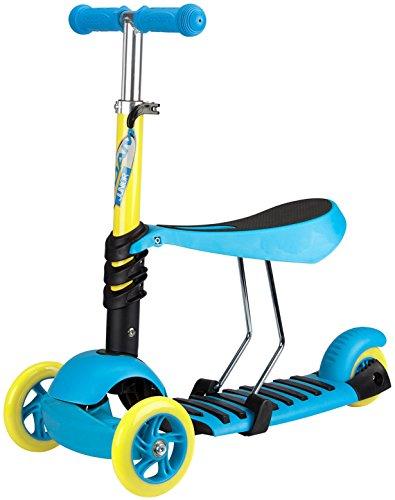 Nijdam kinderen Mini Blue Scooter Tri-surf, One size