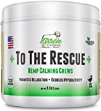 Gracie To The Rescue Calming Treats for Dogs | 120 Soft Chews Dogs -Treats for Anxiety Relief,...