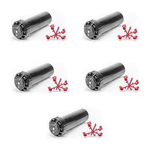 5 x Aspersor de turbina Pop-Up 1/2