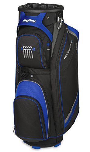 Bagboy Revolver Fx Golf Cart Bag, Black/Royal/Silver