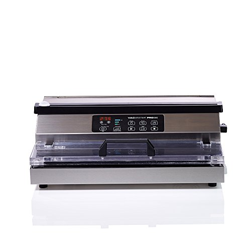 VacMaster PRO380 Suction Vacuum Sealer with Extended 16' Seal Bar