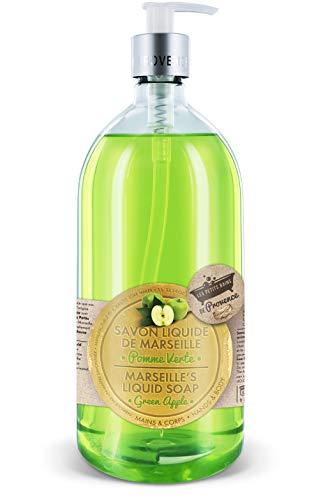 Les Petits Bains de Provence Savon Liquide Pomme Verte