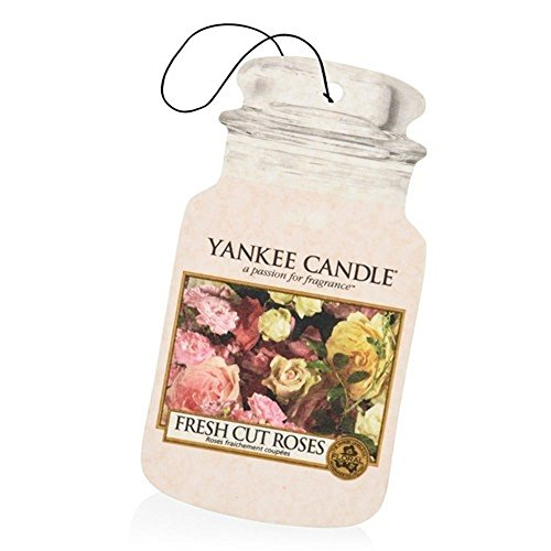 Yankee Candle 'Freshly Cut Roses', car and home air freshener wax, 1 cm x 1 cm