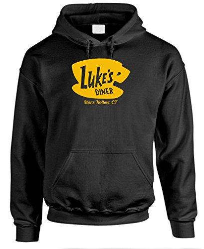 Luke's Diner Men's Pullover Hoodie
