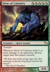 Deus of Calamity by Magic: the Gathering