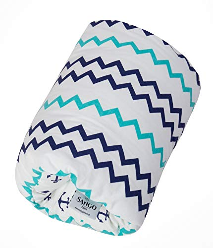 Sango Trade Stillkissen für den Arm Baby Stillkissen Kissen Größe 20 cm (W) x 30 cm (L) Seeabenteuer