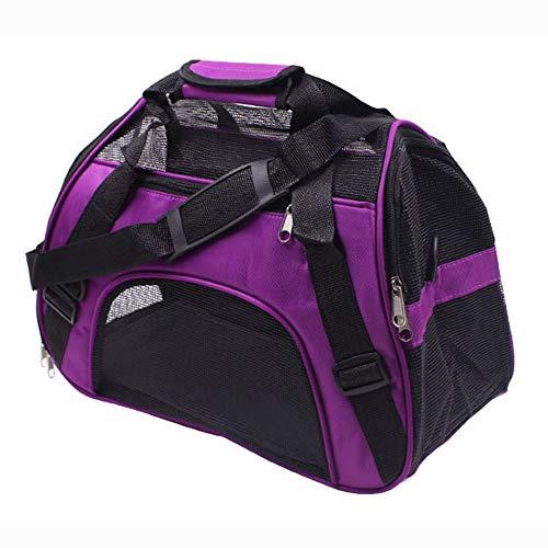 thematys Haustiertragetasche für Hunde und Katzen in 5 Hundetasche aus flexiblem und faltbarem Material - perfekt für Reisen (Style 3, M)