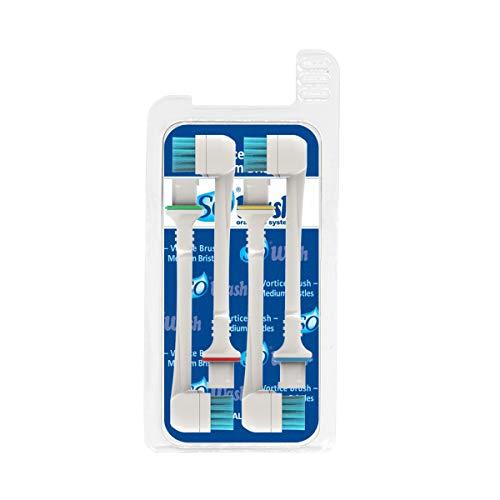 Sowash Vortice Brush Ersatzbürsten für die Sowash Munddusche mittel 2 Stk.