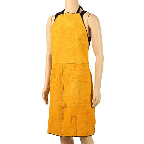 MJJEsports lassen schorten beschermende kleding thermische bescherming werkkleding leer 100X70CM, 6, 1
